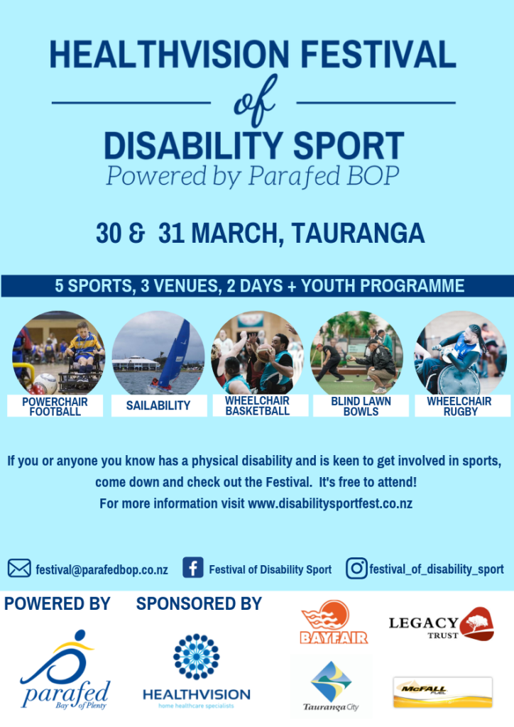 Healthvision Festival of Disability Sport 2019